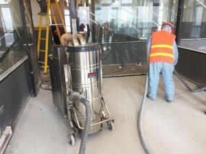 C007AI车间地面用工业吸尘器大功率粉末收集器