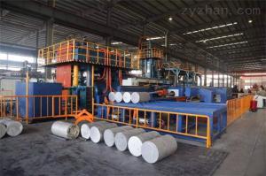 鋁1000噸雙動擠壓機 意美德保持行業前頭