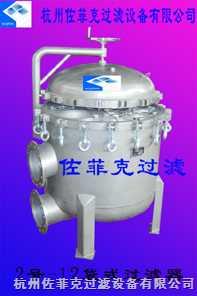 spcD-12/2-304-300G/0。6-Ⅱ不銹鋼12袋式過濾器