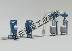TCD1000山東博新中藥粉管鏈輸送機噸包拆包機設備