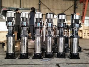 現貨直銷 QDL不銹鋼離心泵 立式多級 增壓泵