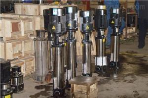 濟寧泵業 QDL立式不銹鋼離心泵 消防增壓泵