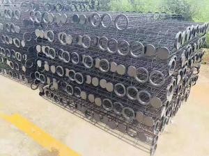 130*2500有機硅耐高溫除塵骨架鍋爐除塵器專用