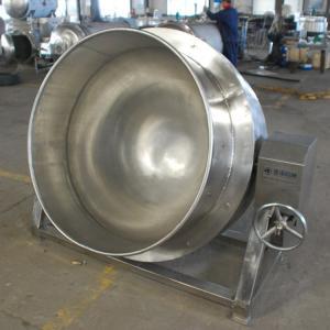 400L蒸汽式夹层锅 蒸汽加热蒸煮锅