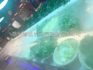 蔬菜展臺噴霧加濕器
