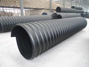 300-3000mm洛陽鋼帶增強pe螺旋波紋管壁厚