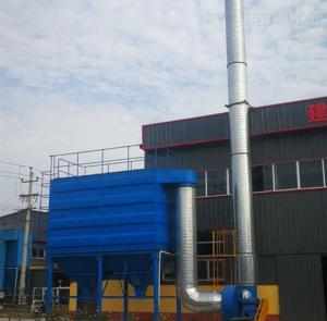 HY中頻電爐除塵器現場安裝保質保量完成訂單
