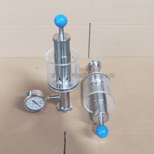 jujie衛生級排氣閥-泄壓閥、304 316L溢流閥