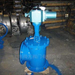 J944X電動角式排泥閥