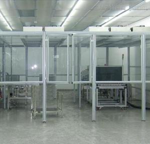 煙臺潔凈廠房十萬級潔凈棚設計安裝
