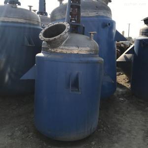 齊全梁山低價處理5噸不銹鋼反應釜