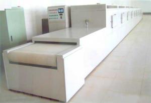 隧道式微波干燥滅菌機產品應用