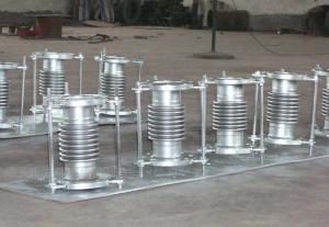 DN不锈钢膨胀节 金属矩形补偿器304波纹管