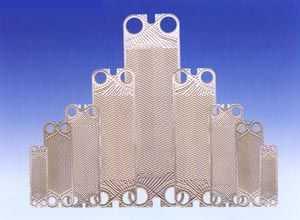 板式熱交換器板片