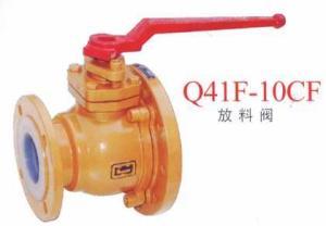 Q41F-10CF放料閥