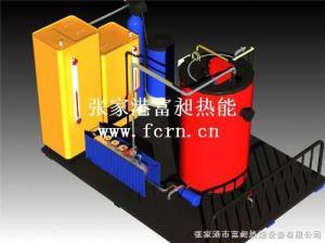 LSS0.5-0.7-Y.Q 立式燃油氣蒸汽鍋爐,整體成撬安裝