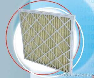 褶形板式一次性過濾器