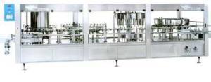 SSL100塑料瓶大輸液洗、灌、封聯動機