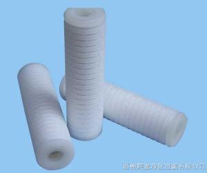 折叠微孔膜筒式滤芯