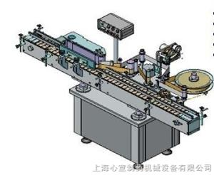 tlj-a型不干膠自動貼標機