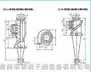 XLP型旁路式旋風除塵器