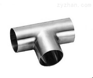 卫生级焊接三通不锈钢卫生级焊接式三通