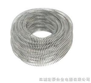 根據客戶需求鎳鉻高溫電爐條、鐵鉻鋁電爐絲