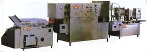 QXGF5/25型口服液洗烘灌封生產聯動線