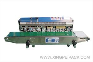 Xp-900连续封口机 墨轮印字封口机 自动印字封口机