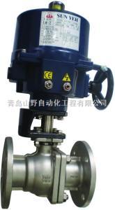 DN50-DN600台湾山野电动球阀,sunyeh电动球阀,进口球阀