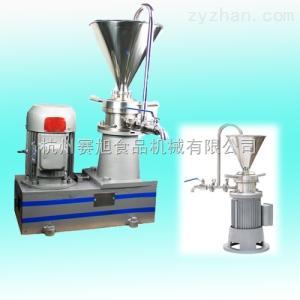 JMF系列浙江制藥膠體磨,磨芝麻醬機,化工膠體磨