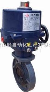 D941XD电动蝶阀-进口电动蝶阀,台湾山野电动蝶阀