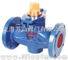 X43T-1.0二通銅芯旋塞閥