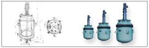 50L~10000L搪瓷反應釜、不銹鋼反應釜、鋼襯4F反應釜