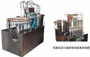 CRG細長頸軟膠袋灌裝壓蓋機
