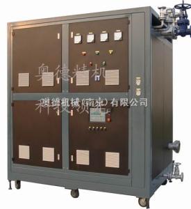 AEOTPE高發泡成型機導熱油循環加熱設備,代替蒸汽鍋爐的加熱控溫設備
