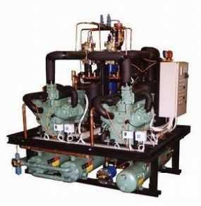 双级活塞冷凝机组(水冷型)