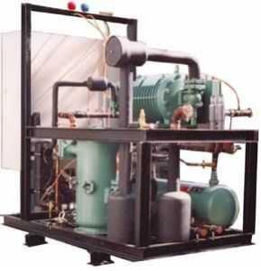 低溫單螺桿式壓縮機組