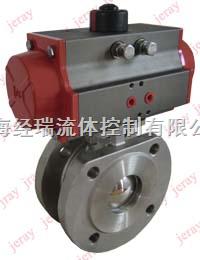 BV1-D50AF16优质气动薄型球阀,气动球阀,气动法兰球阀尽在上海经瑞阀门厂