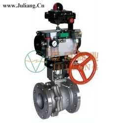 ANSI标准气动球阀JLQ641(F/N/P)-CLASS150/300/400