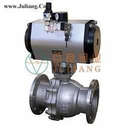 GB气动固定式球阀JLQ647(F/N/P)-PN16/25/40