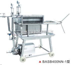 BASB400NN-1型BASB400NN-1型系列不銹鋼板框精濾機