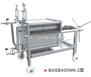 BASB400NN-2型BASB400NN-2型系列不銹鋼板框精濾機