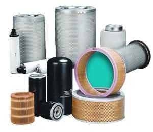 可選空壓機三濾(機油濾芯,空氣濾芯,油氣分離器芯)