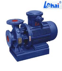 ISWB型臥式防爆管道離心泵