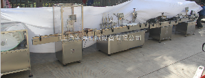 SGGX-200理瓶灌装贴标生产联动线