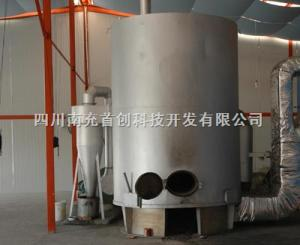 擴散型粉末生物質燃料、煤兩用熱風爐