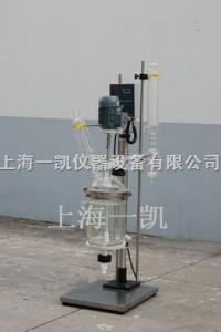 s212-3L上海一凱雙層玻璃反應釜