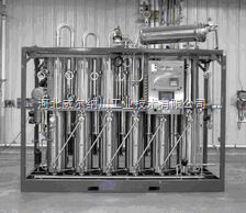 WR石家庄无极多效列管蒸馏水机