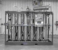 WR河北石家莊多效列管蒸餾水機